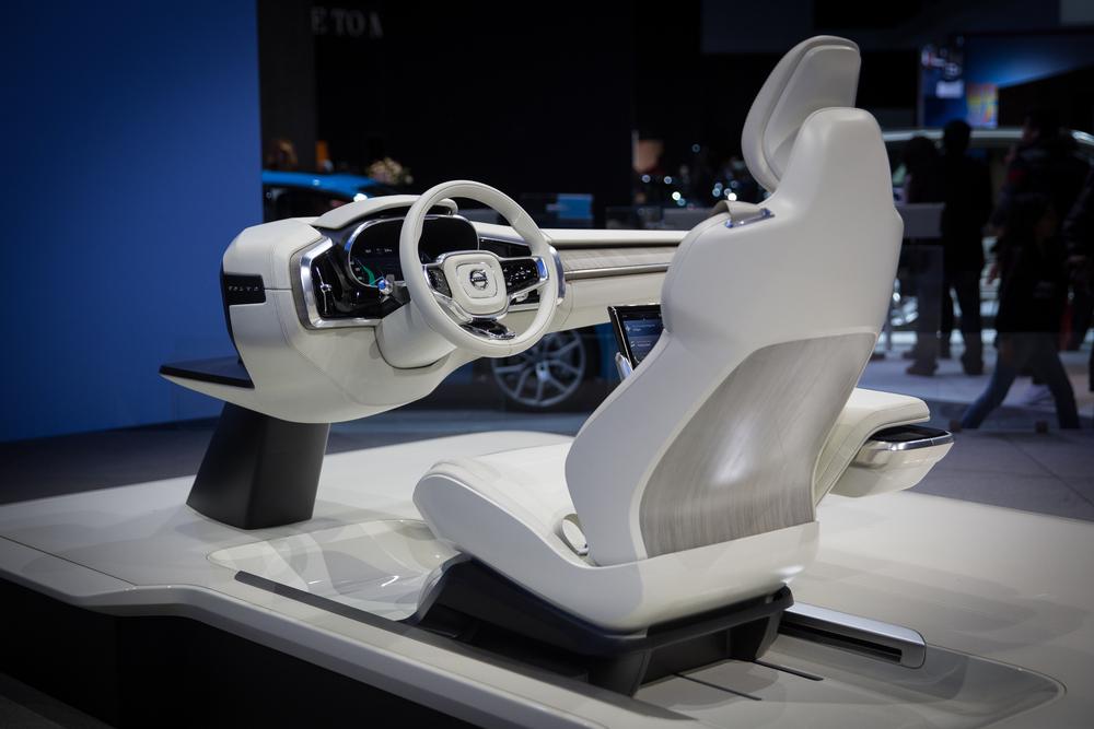 Volvo Interior Concept - 2015 LA Auto Show