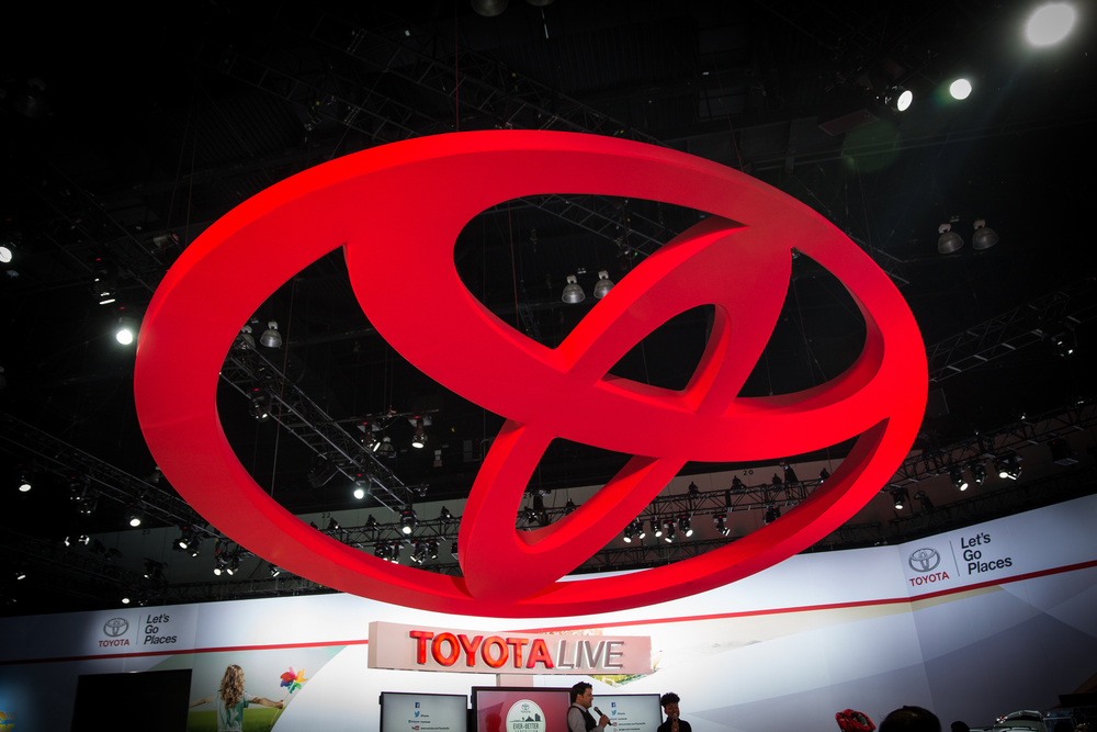 Only memory of Toyota at 2015 LA Auto Show