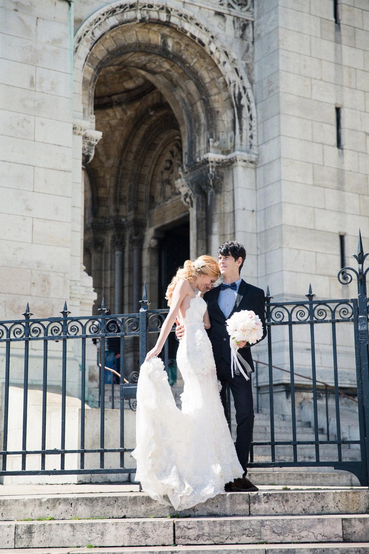 Paris Couple Wedding