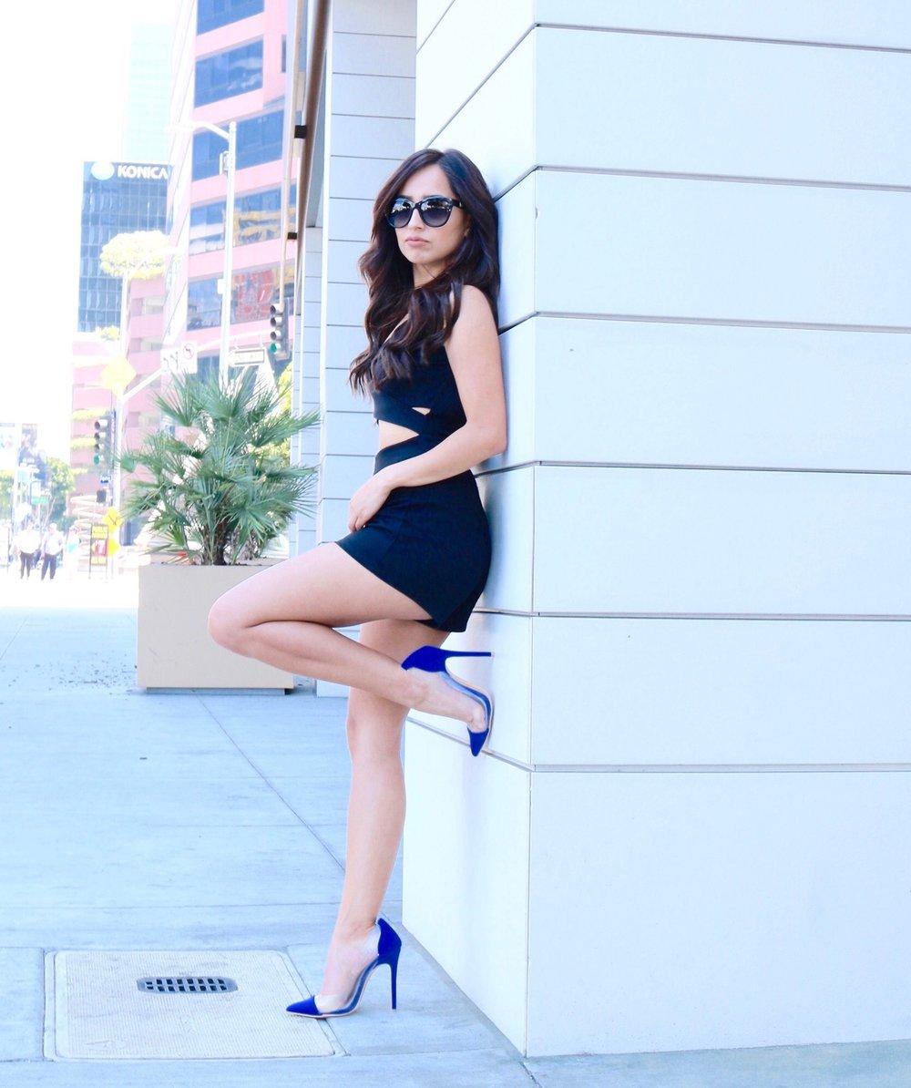 Fashion photography portrait view