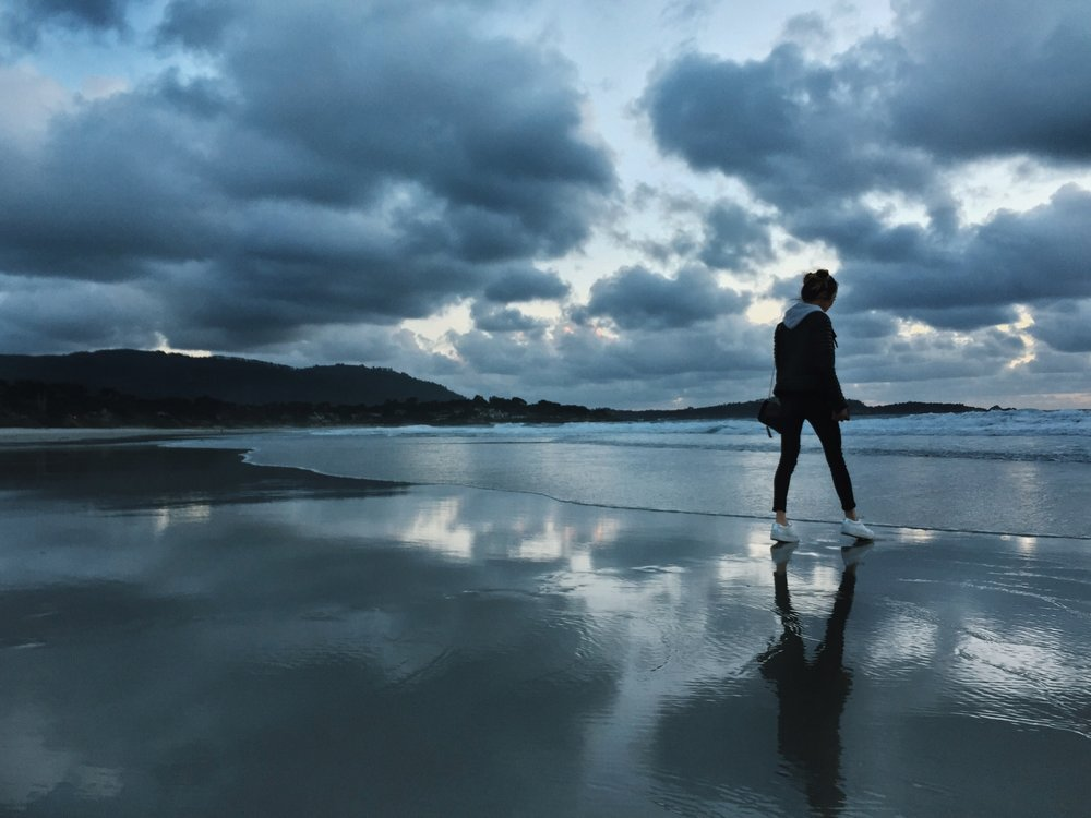 Reflective Seaside Photography