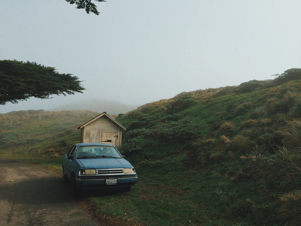 Driving around Point Reyes