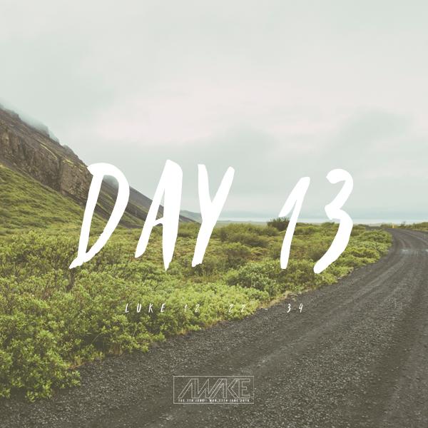 Day Thirteen
