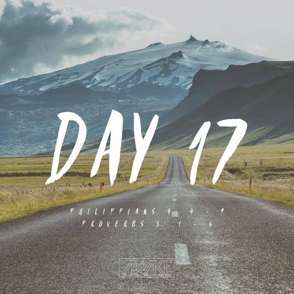 Day Seventeen