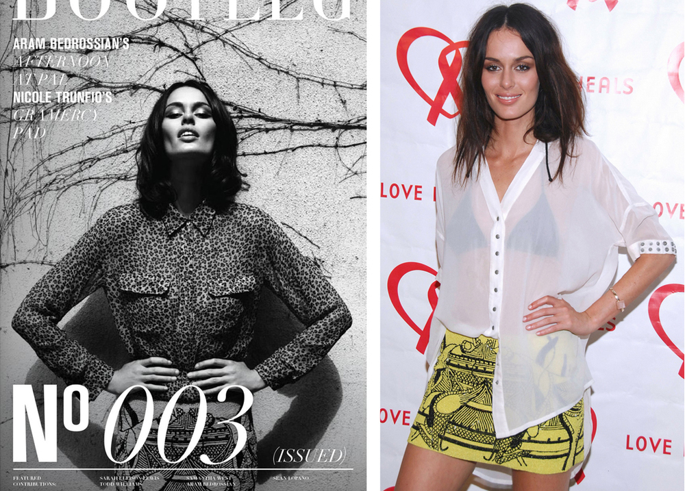 Nicole Trunfio wearing Leila Shams