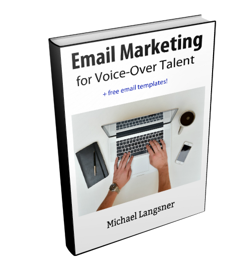 Voice Over Email Marketing ebook template