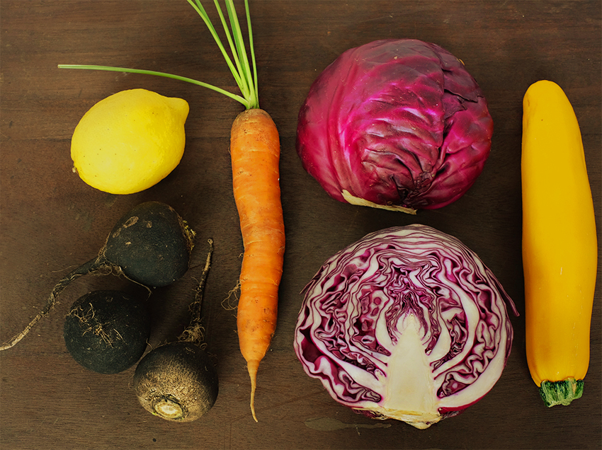 purple cabbage slaw w paleo mayo