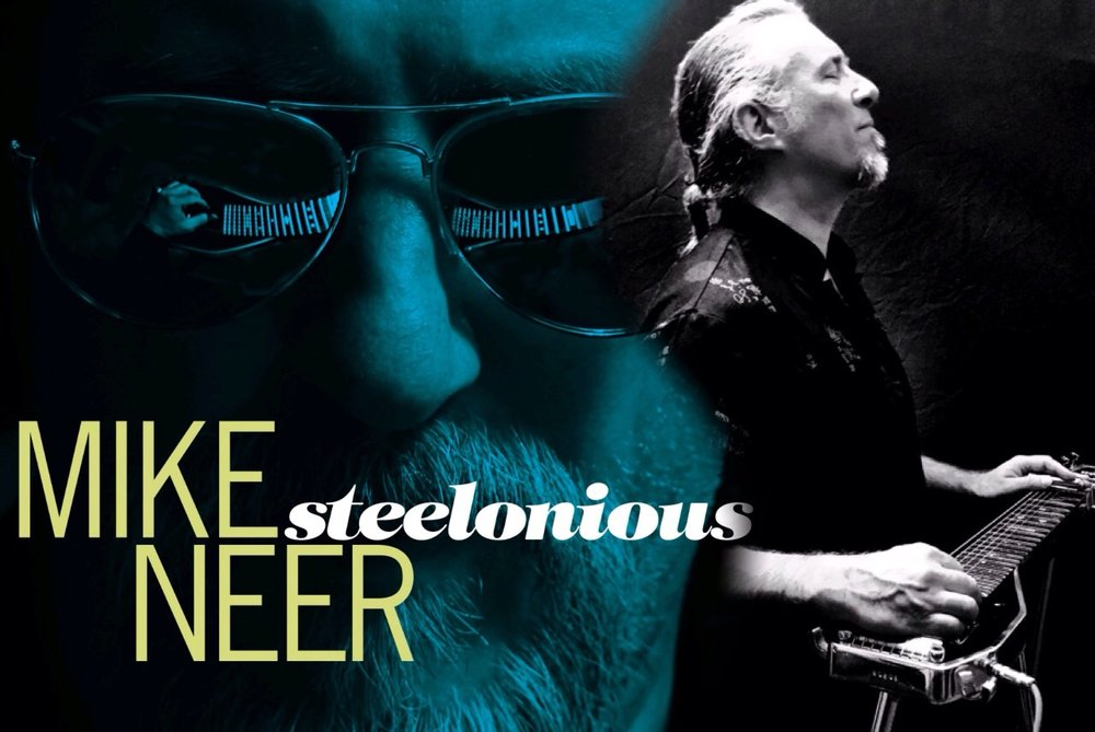 Thelonious Monk, Bob Wills, Dick Dale, B.B. King and Santo & Johnny walk into a bar....No, wait--that's Mike Neer's 'Steelonious'. Thelonious Monk, our way.""