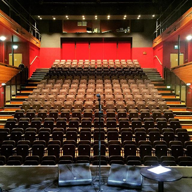 Beautiful theatre in Strabane tonight!