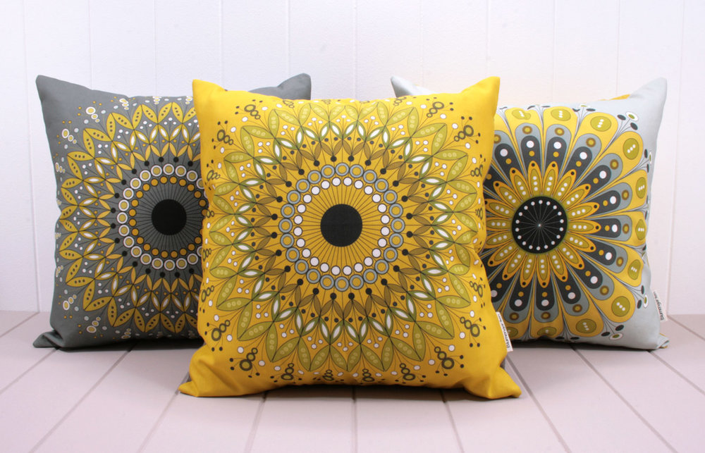 Blumengarten cushions - available in store