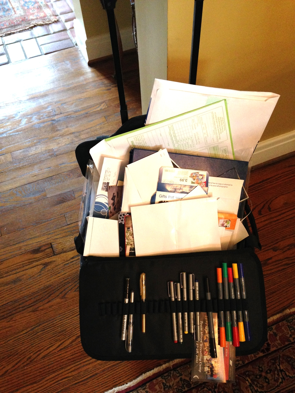 Unfinished scrapbooks