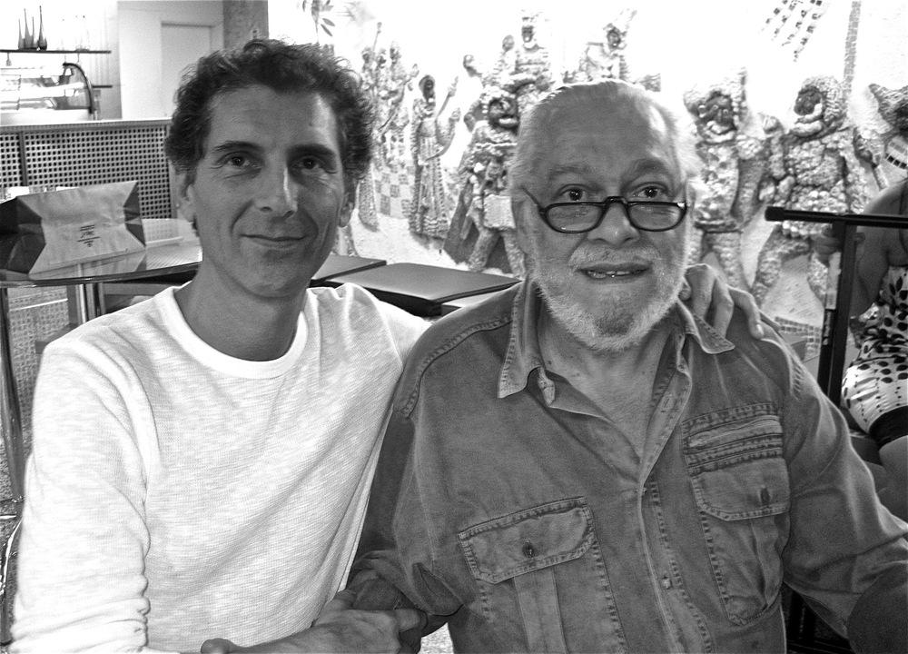 With poet/lyricist Paulo Cesar Pinheiro.