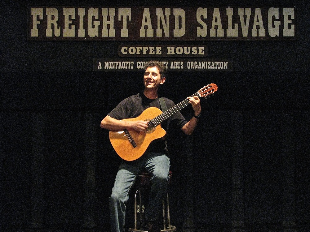 At the Freight And Salvage in Berkeley, California