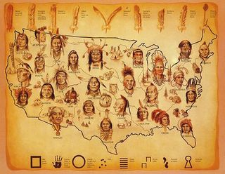 Before 1492 and stil today--Indigenous people are throughout America.