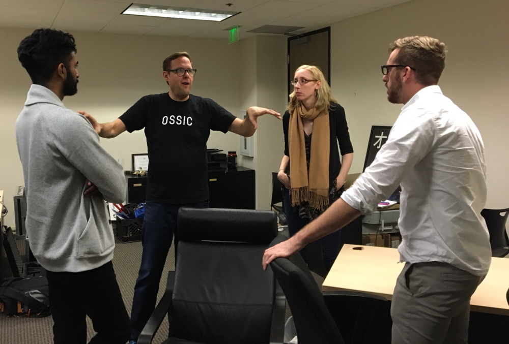 Our CEO, Jason, and CTO, Joy, explaining 3D audio