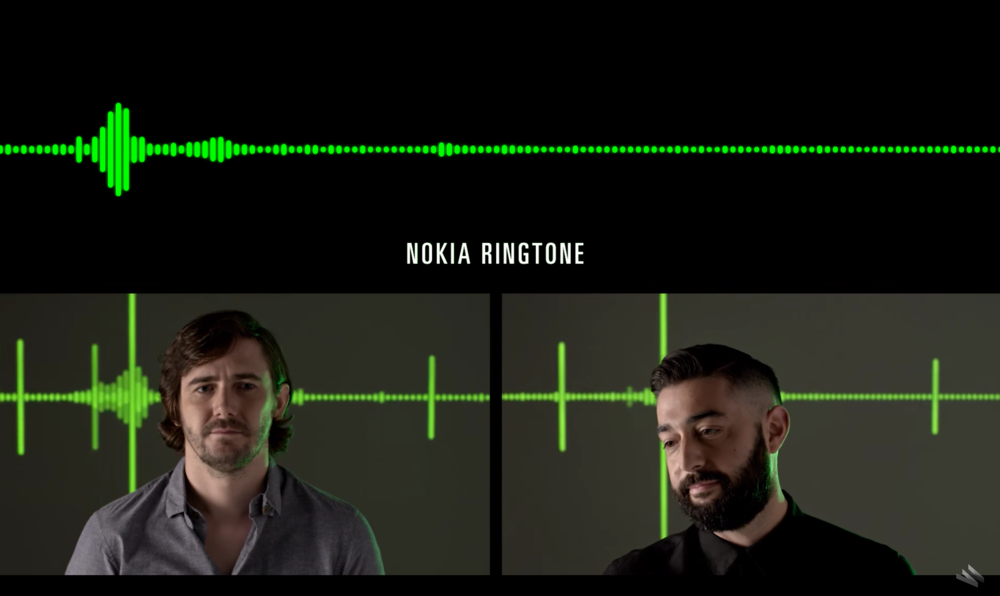 Andrew Strafford (L) and Steve Milton (R) breakdown some of the world's most recognizable sounds.