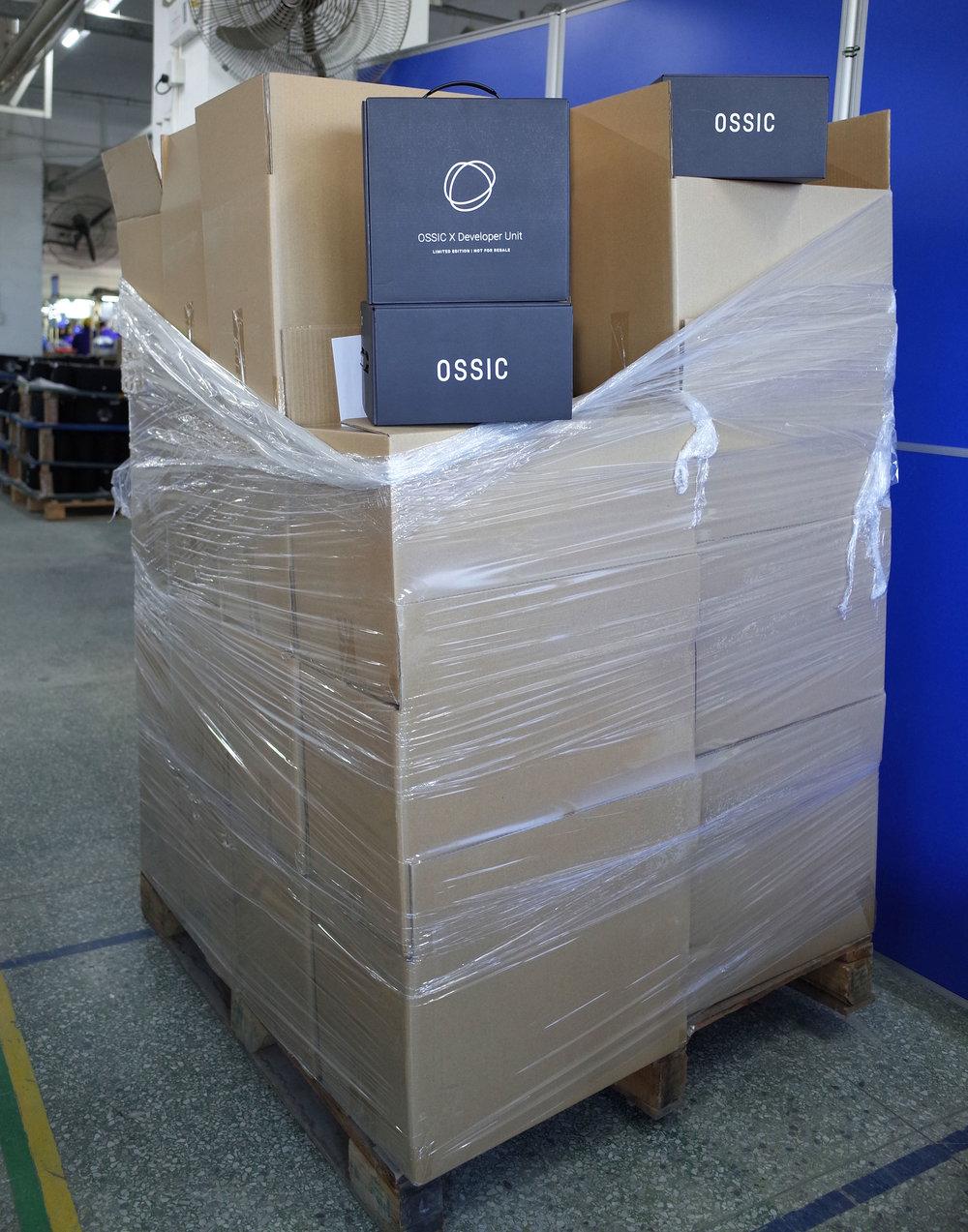 Developer Units ready for final shipment