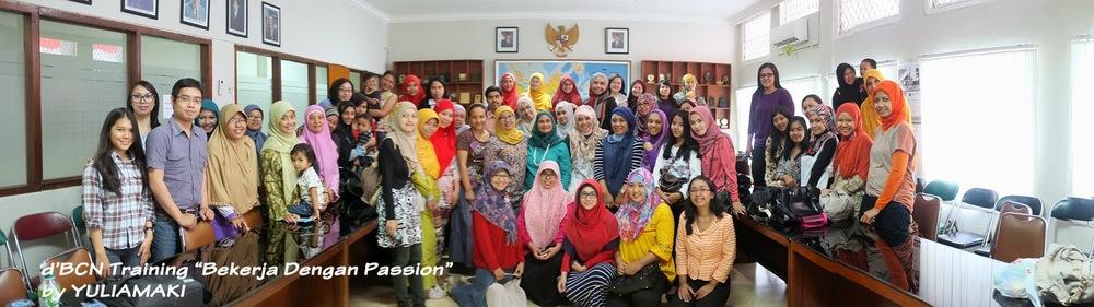 Foto bersama d'BCN Bogor