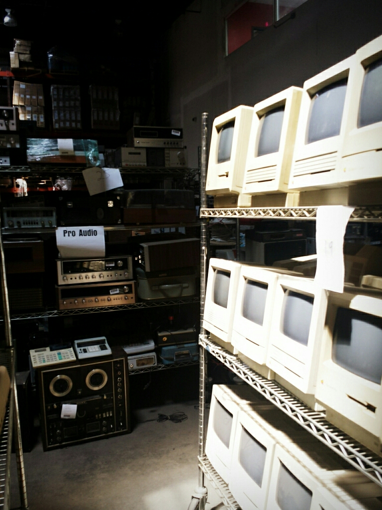 The prop shop, archiving the obsolete..