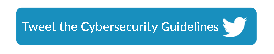 ClicktoTweet Cybersecurity Industry Guidelines button