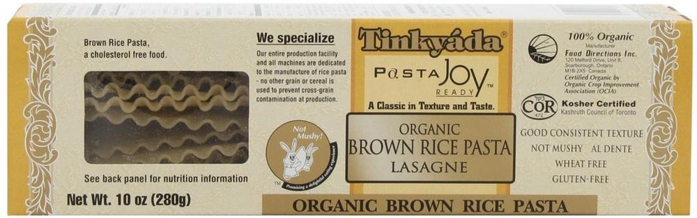 Tinkyada Organic Brown Rice Pasta Lasagne