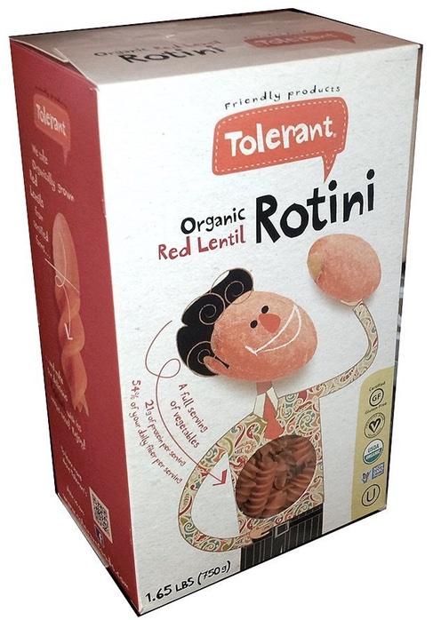 Tolerant Red Lentil Rotini