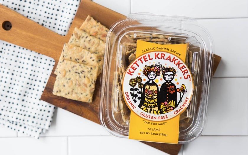 Kettel Krakkers Gluten-Free Sesame Crackers