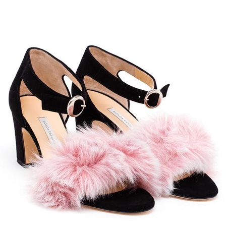 FUZZY PINK + BLACK SHOES.jpg