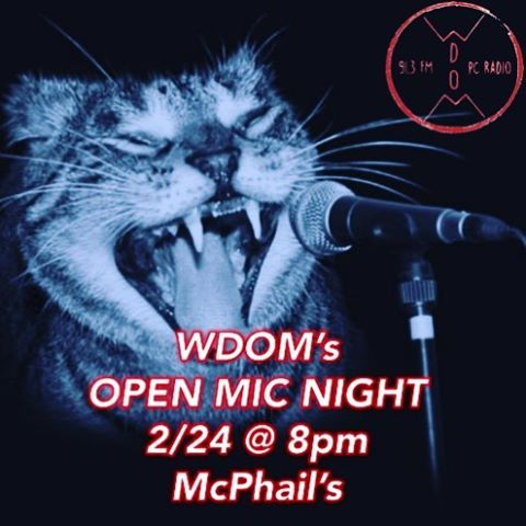 Tonight's the night!! #openmicnight #Wdom