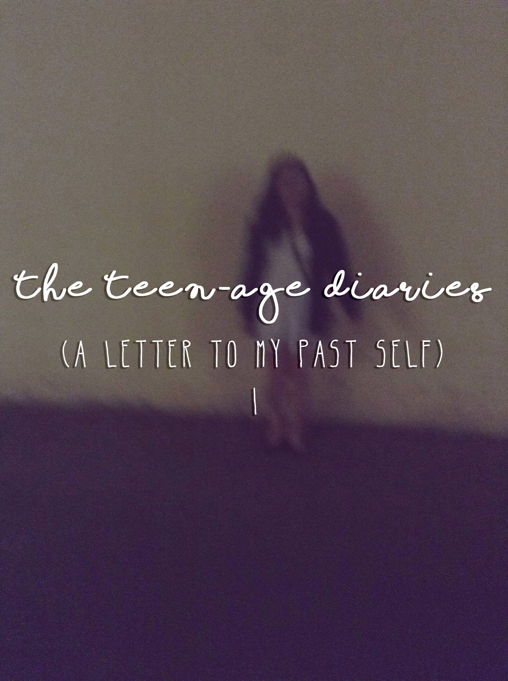 Teen-Age Diaries - Anonymous submission