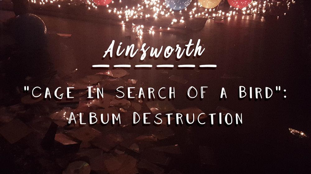 Ainsworth Album Destruction - Show Review