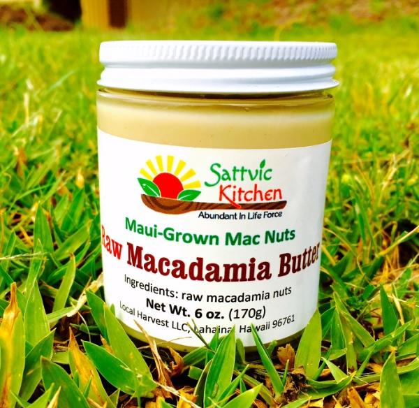 maui raw macadamia nut butter napili farmers market