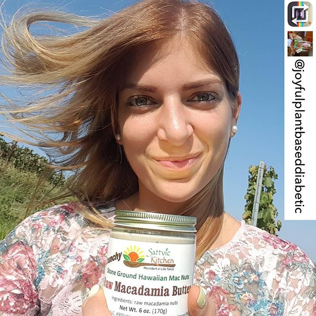 Our raw macadamia nut butter has reached Europe! 😍🌈🍯 repost: @joyfulplantbaseddiabetic from Hungary. Check out her account, she's treating her diabetes with an amazing low-fat, plant-based, whole-food diet 🥗 * * * * * #napilifarmersmarket #sattvickitchen #macadamianut #macadamianutbutter #vegan #raw #plantbased #maui #locallygrown #europe #wholefood #vegetariansofig #vegansofig #givemethatplant #diabetes #hungary #alohastate #crunchy #macadamianuts