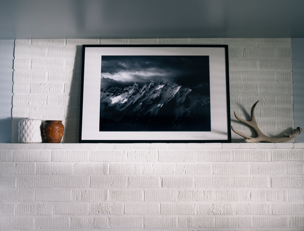 30x20 Print of Johannesburg Mountain.