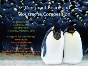 7th Continent Beard Competition