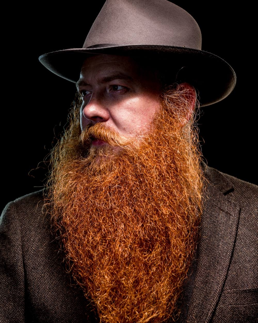 photo by: Jeffery Moustache  The World of Beards