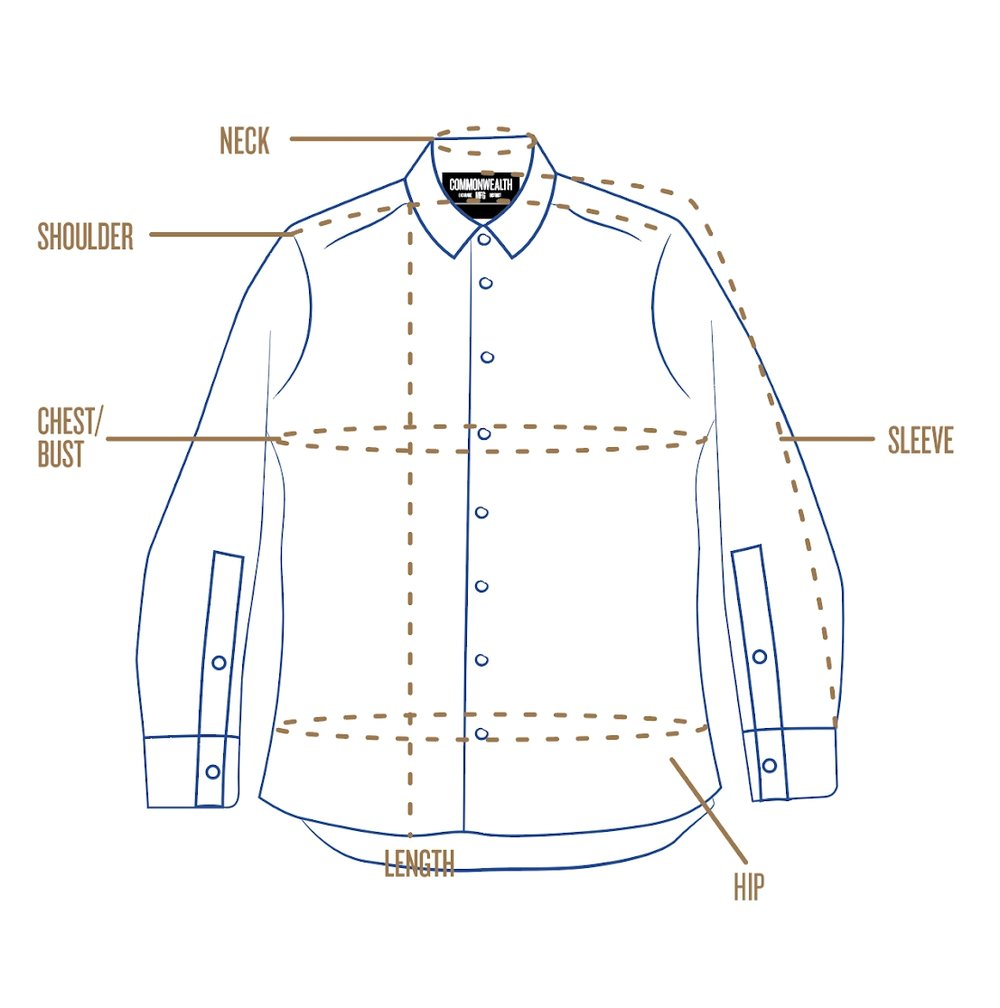 Mens Suit Shirt Size Chart Bcd Tofu House