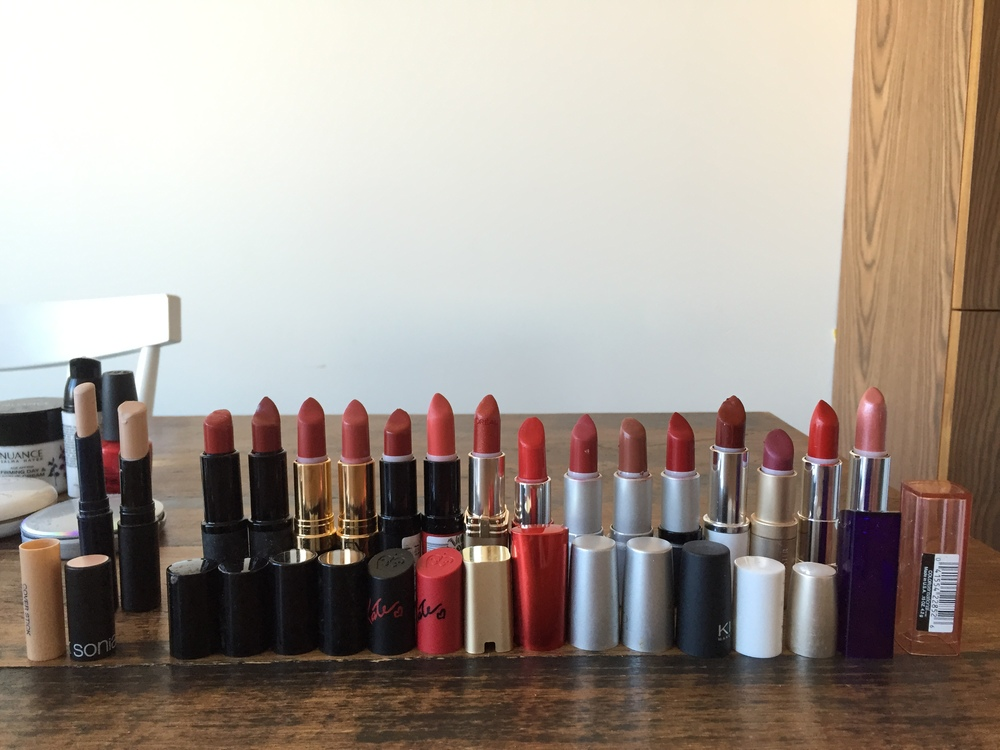 I don't like red lipsticks do I?