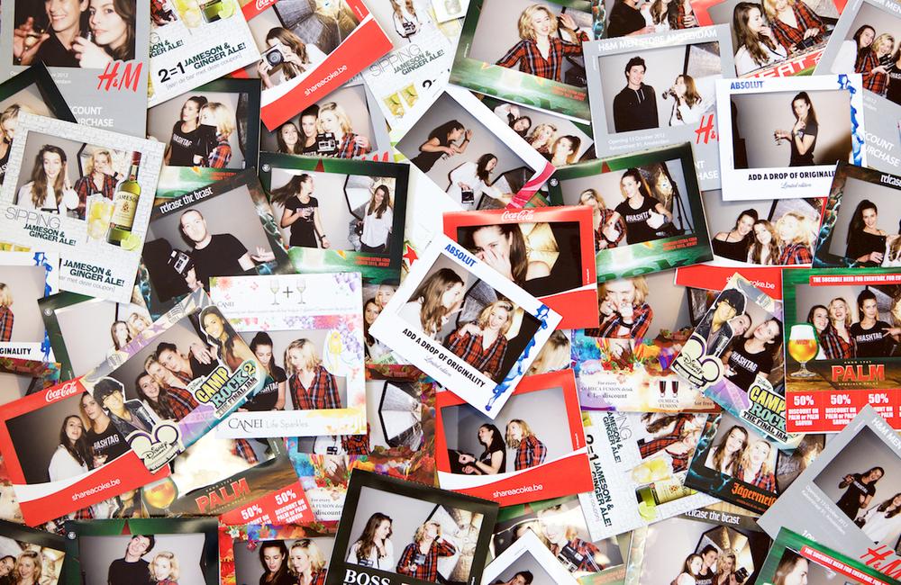 Instant Branded Polaroid