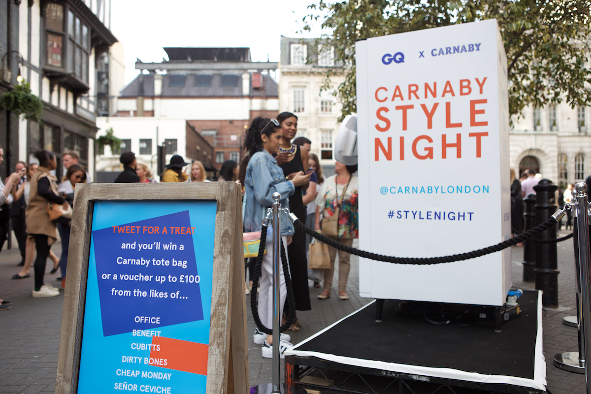 Carnaby X GQ Style Night Film Dept — We are Photographic