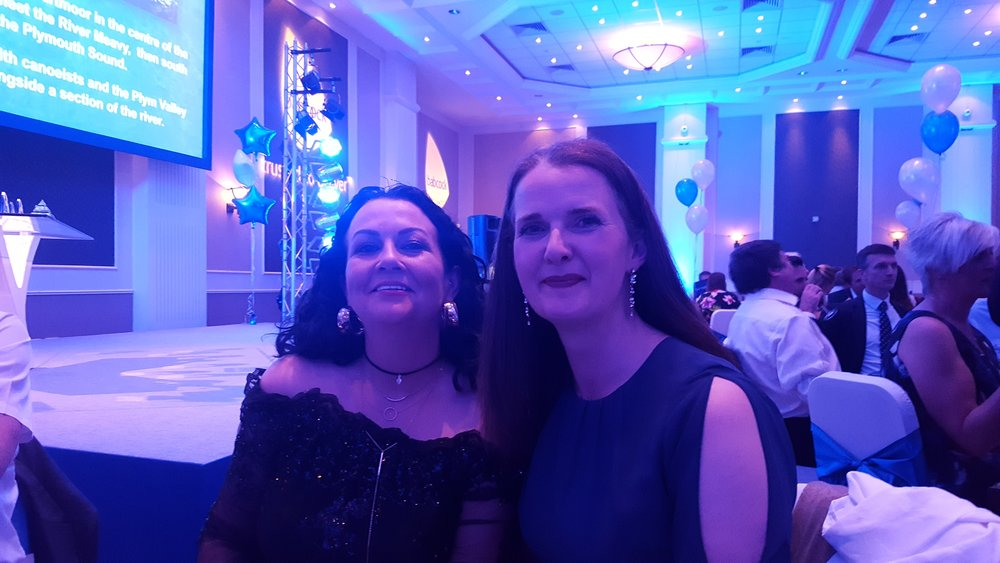Meeting Lisa Ramos at a Babcock International Group Health and Safety Awards Dinner - May 2017