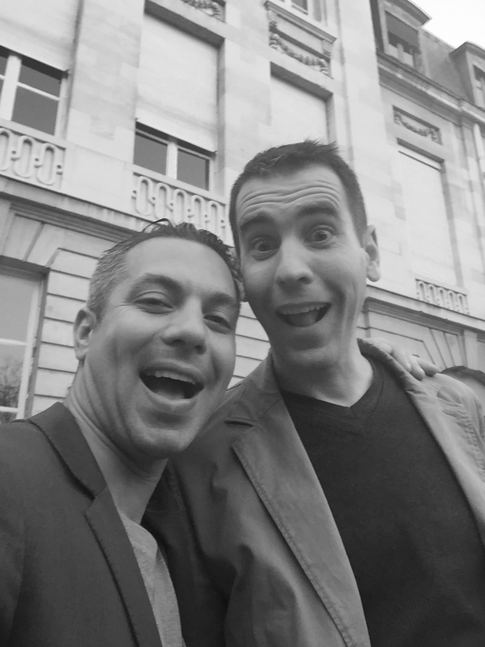 Avec Mathieu Guibart, second des Crayères, à Reims.