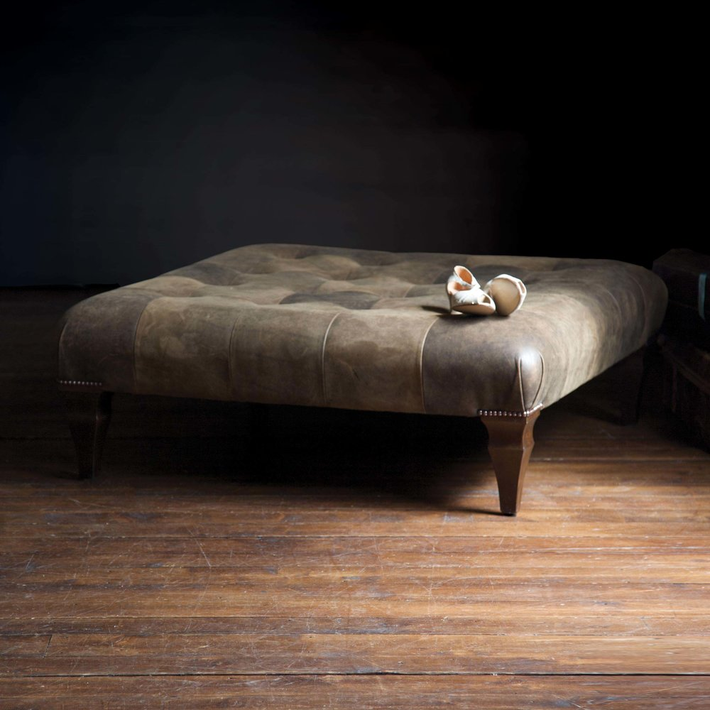 Ottoman Indented or Plain  Prices start from £605