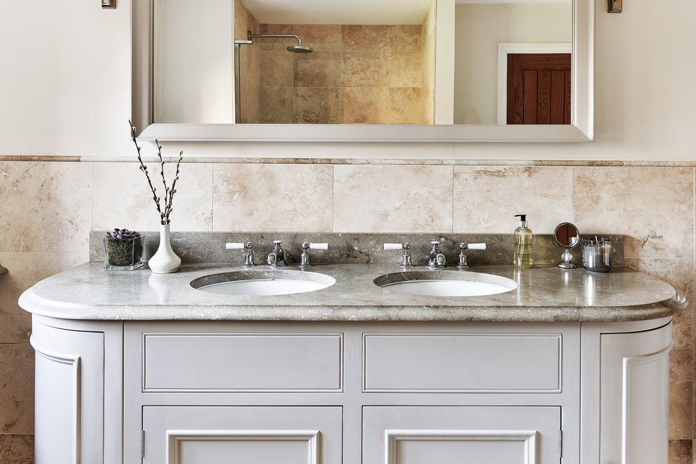 Neptune Bathrooms - Some bathrooms are relaxing spaces. Others are a little more hectic. We display some washstands and bathroom accessories in our showroom.