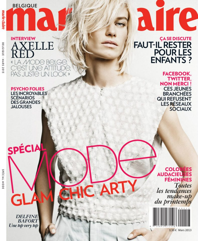 Delfine Bafort for Marie Claire