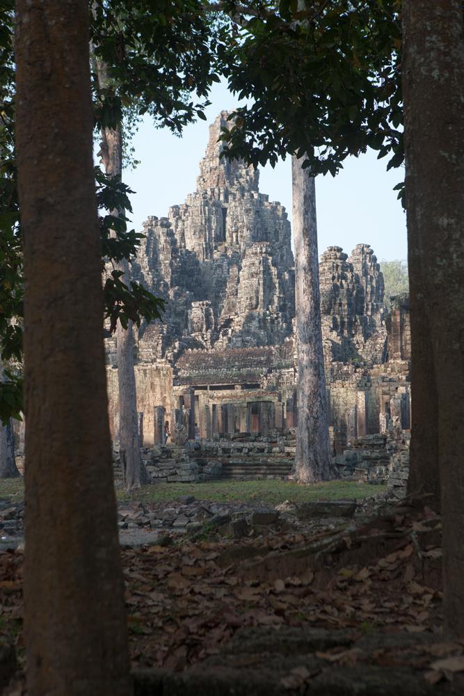 Bayo  n Temple -  Angkor Thom - Siem Reap
