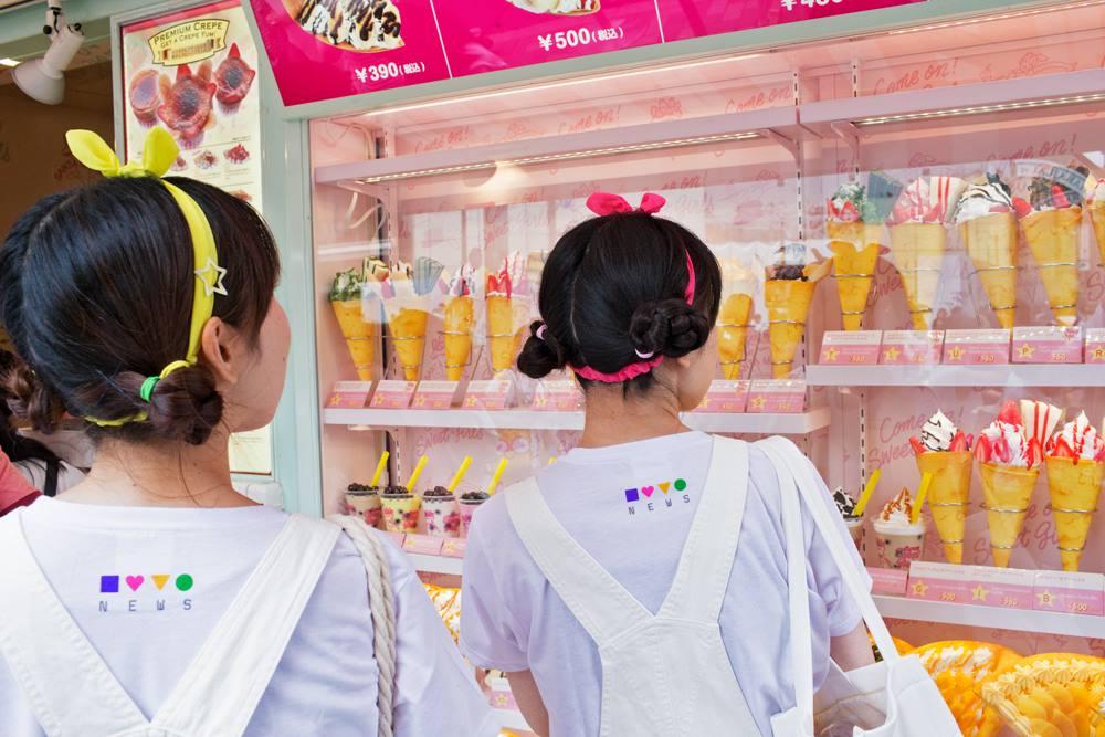 Takeshita Dori Girls - Tokyo