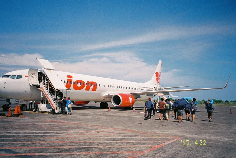 インドネシアのLCCでロンボクまではバリから片道3000円ほど。