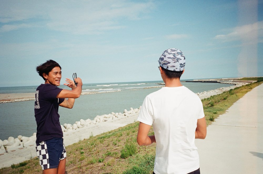 仙台で波チェック