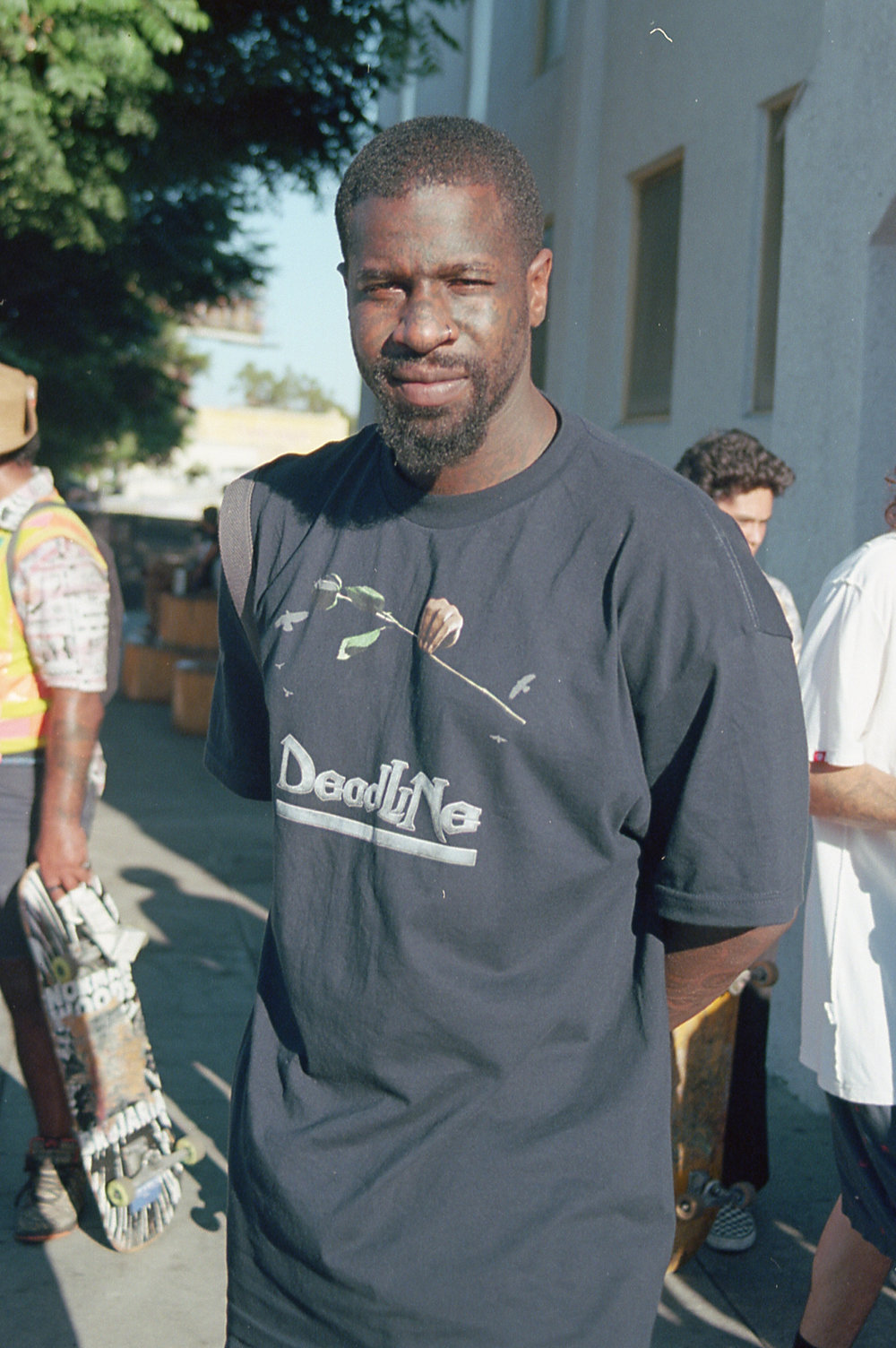 LAのGo skateboarding dayであったAntwuan Dixon. いい人だった。